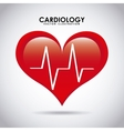 cardiology design vector image