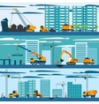 Construction And Building Concept vector image vector image
