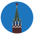 Kremlin tower vector image