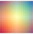 light rainbow triangle gradient background vector image vector image