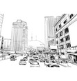 seoul republic korea vector image vector image