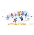 snowballs battle between friends teams website vector image vector image