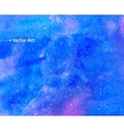 Watercolor universe vector image vector image