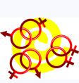 gay vector image