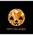 abstract cute halloween character Pumpkin vector image
