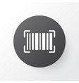 barcode icon symbol premium quality isolated vector image vector image