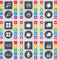 Magnifying glass Printer Apps Apps Suitcase Truck