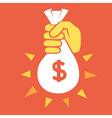 money jackpot vector image vector image