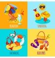 Summer Holidays Set vector image vector image
