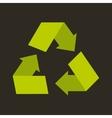 recycle arrows symbol ecology vector image
