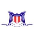 usa heraldry symbol vector image