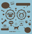 Cat vs dog infographic vector image vector image