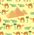Egypt Seamless pattern Characters of Egypt