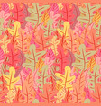 floral seamless pattern background vector image vector image