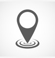 map point icon vector image