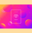 modern abstract banner set flat liquid blob vector image