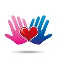 health heart conecpt icon design vector image