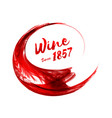abstract red wine background vector image vector image