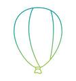 balloon air celebration icon vector image