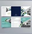 brochure design 625 vector image vector image
