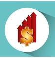 business world money economy vector image