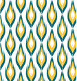 geometric pattern ikats vector image vector image