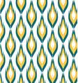 geometric pattern ikats vector image