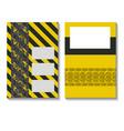industrial headline design vector image vector image