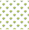 tree pattern seamless vector image vector image