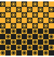 Seamless pattern Chessboard vector image