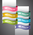 Colorful Swirl Banners vector image