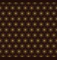 creative star shape pattern vector image