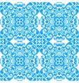 Abstract seamless ornamental watercolor vector image vector image