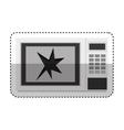 Broken microwave oven icon vector image vector image