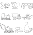 Cartoon transport vector image vector image
