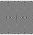 Design seamless monochrome striped pattern vector image vector image