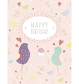 greeting template card vector image vector image