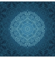 mandala patternorient ethnic background vector image vector image