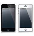 Mobile phone set vector image vector image