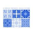seamless pattern portuga vector image