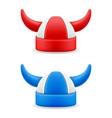 soccer football fans attribute hat vector image vector image