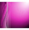 Sparkling modern purple background vector image vector image