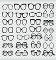 different shapes frame styles set of various vector image