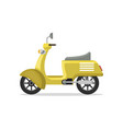 food delivery moped isolated icon vector image