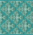 arabian style turquoise damask paisley