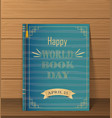 books standing vertical isolated vector image vector image