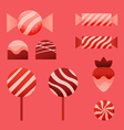 candies for Valentines Day vector image
