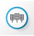 cereal icon symbol premium quality isolated wheat vector image