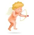cherub baboy angel child cartoon character vector image vector image