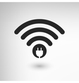 Creative WiFi vector image